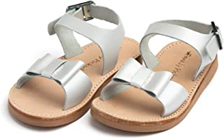 Bayview Little Girl Leather Sandals - Toddler/Little Kid Sizes 3-13 - Multiple Colors