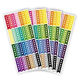 Planner Glitz 4 Sheets Decorative Planner Stickers - Checklist...