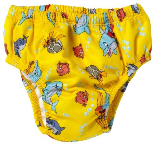 AQUA 6981 LOPAKA Nappy Slip zwembroek, geel, XL