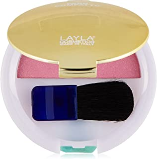 LAYLA COSMETICS MILANO Layla Top Cover Compact Blush - 07 Tulip Pink