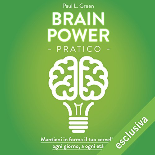 Brain Power pratico audiobook cover art
