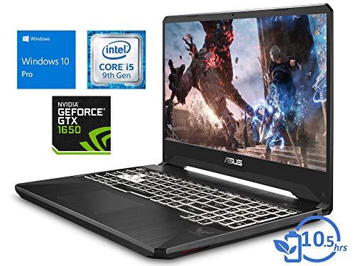 "ASUS TUF FX505GT Laptop, 15.6"" FHD Display, Intel Core i5-9300H Upto 4.1GHz, 64GB RAM, 1TB NVMe SSD + 1TB HDD, NVIDIA GeForce GTX 1650, HDMI, Wi-Fi, Bluetooth, Windows 10 Pro"