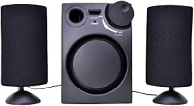 VIBE VS-521 3-Piece 2.1-Channel Multimedia Speaker System (Black) Electronics Computers Accessories