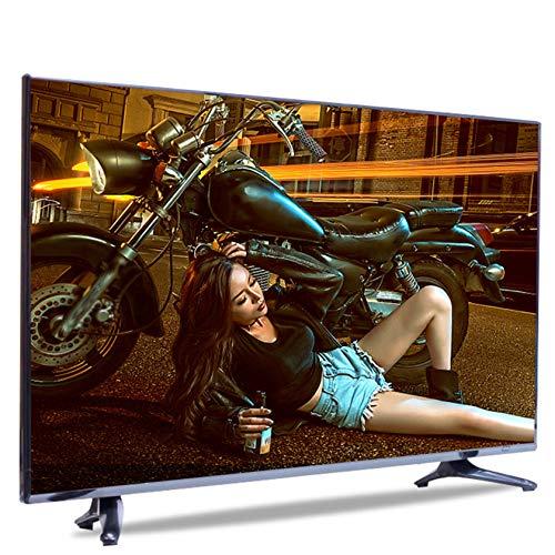 AIOEJP 55 Pulgadas Smart TV 4K TV Ultra HD Android Televisión LED De Alto Rango Dinámico con Control Remoto por Voz TV De Pantalla Plana