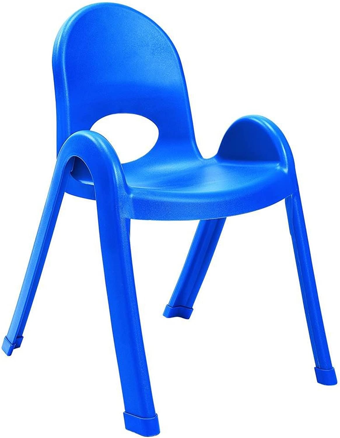 Angeles 13-Inch Value Stack Chairs Set of 4 (Royal bluee)