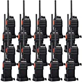 Retevis H-777S Walkie Talkies 2 Way Radios,Two Way Radio Rechargeable Long Range,VOX Hands Free USB Charger Dock Sturdy,Workers Business Company School Hotel Retail(20 Pack)