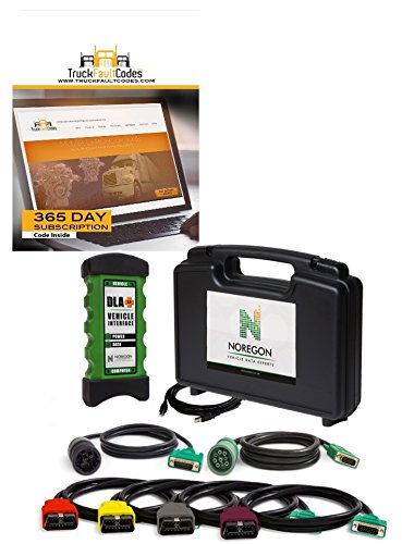 Noregon JPro DLA+ 2.0 Adapter Kit with 12-month Subscription to TruckFaultCodes