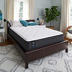 13-INCH MATTRESS: Cushion Firm mattress with exclusive Response Coil System to provide the perfect balance of comfort and deep down support for a superior night's rest. POSTURPEDIC TECHNOLOGY: Delivers reinforced support under the heaviest part of th...