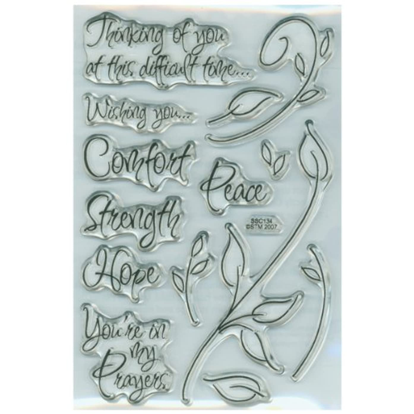 Stampendous Perfectly Clear Stamps - Encouraging Words