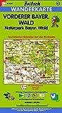 Fritsch Karten, Nr.57, Vorderer Bayerischer Wald (Fritsch Wanderkarten 1:50000)