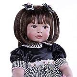 FACAIA Rebirth Doll, 24 Pulgadas 60cm Priness Girl Baby Reborn Doll, Muñeca Reborn de Silicona de Vinilo Suave Muñeca Realista para niñas recién Nacidas con