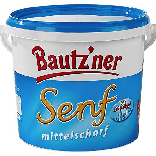 5kg Eimer Bautzner Senf mittelscharf Develey Senf & Feinkost GmbH Orginal