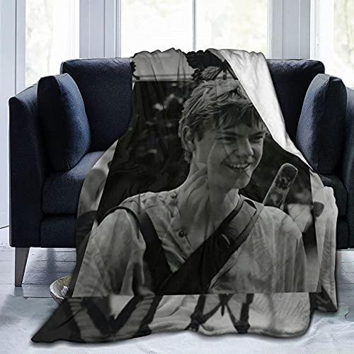 Das ultraweiche Micro Fleece Blanket Fit Couch Sofa von Maze Ru-nner Newt, geeignet für die ganze Saison 50 'X40