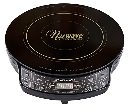 """Nuwave 9"""" and 10.5"""" Hard Anodized Fry Pan Set with Ceramic Nonstick Interior"""