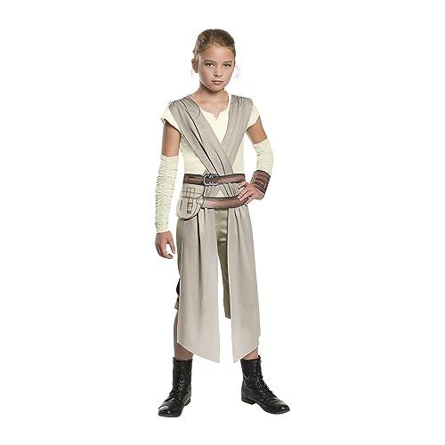 Perfect Star Wars: The Force Awakens Childu0027s Rey Costume, Small