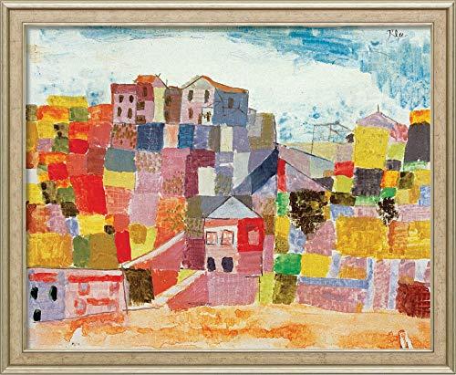 Sicily at S Andrea 1924 Paul Klee - Film Filmplakat - Beste Print Kunstdruck Qualität Wanddekoration Geschenk - A0 Gemälde (40/30 inch) - (102/76 cm) - Gestreckt, fertig zum Aufhängen