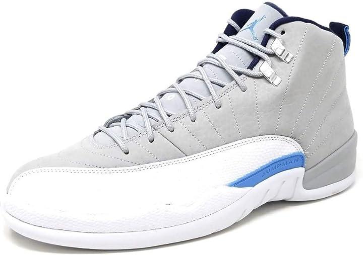 Scarpe nike air jordan 12 retro, scarpe da basket uomo, 9.5 m us 130690-007