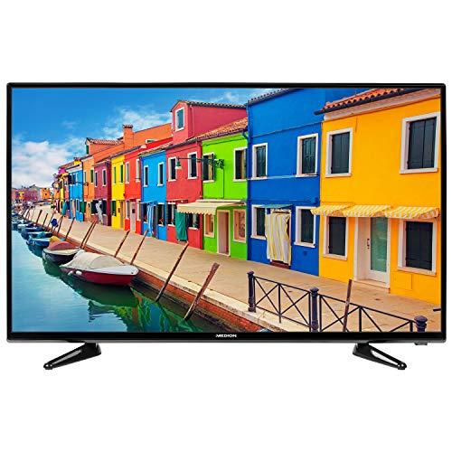 MEDION E14014 100,3 cm (40 Zoll) Full HD Fernseher (HD Triple Tuner, DVB-T2 HD, integrierter DVD-Player, CI+, Mediaplayer, 3 x HDMI, SCART, VGA, USB)