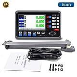 3 Achsen LCD DRO Digitalanzeige 5µm TTL Positionsanzeige für Ihre Drehmaschine, Fräsmaschine,...