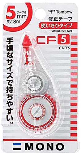 トンボ鉛筆 MONO 修正テープ モノCF5 CT-CF5 【× 4 個 】