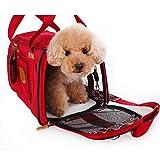 Tragetasche für Haustiere Bewegliches Haustier Outing Paket Reisetasche Hund Breath...