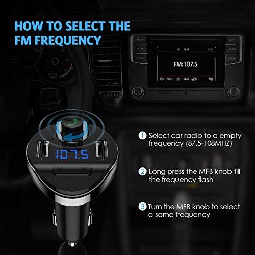 Criacr - Transmisor FM Bluetooth