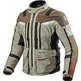 REV'IT! Motorradjacke mit Protektoren Motorrad Jacke Sand 3 Textiljacke Sand/schwarz XL, Herren, Enduro/Reiseenduro, Ganzjährig, beige