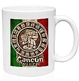 Taza de café divertida de Cancún México, 325 ml, cerámica de alta calidad, taza de café o té