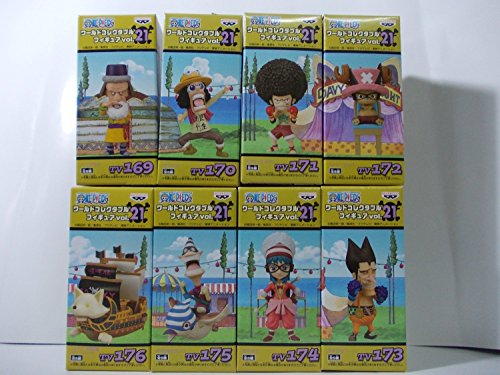 ONE PIECE - World Collectable Figure vol.21 (set of 8)