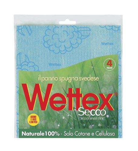 Wettex 102149schwammlappen trocken, Mehrzweck, 4Stück