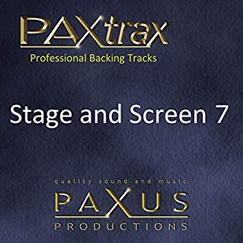 Paxtrax Professional Backing Tracks: Stage & Screen 7