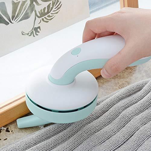 luoshan Lini Mini Handheld Desktop Aspirador Casero Limpiador de Teclado inalámbrico (Color : Blue)