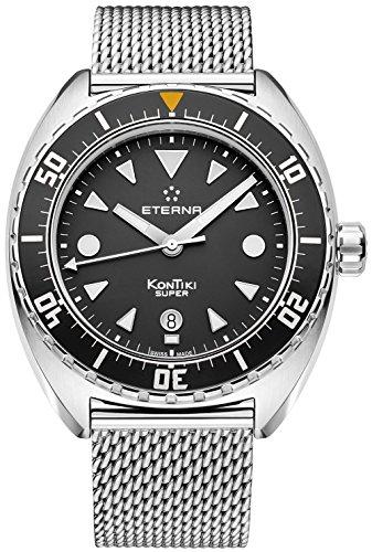 Eterna Herren-Armbanduhr Super KonTiki Datum Analog Automatik 1273.41.40.1718