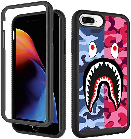 Case for iPhone 6 Plus 6s Plus iPhone 8 Plus Cool Camo Case iPhone 7 Plus Cases for Boys Girls product image