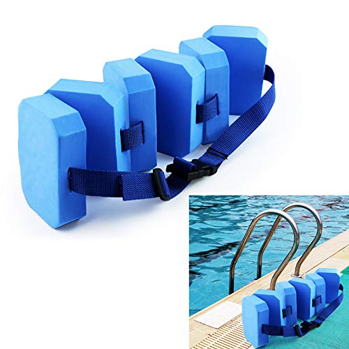 Lowest Price! Ewer Swim Belts for Learning to Swim, Premium EVA Foam Swim Weight Belt, Adjustable Jo...