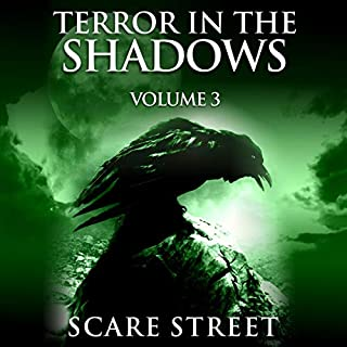 Terror in the Shadows, Volume 3     Scary Ghosts, Paranormal & Supernatural Horror Short Stories Collection              By:                                                                                                                                 Scare Street,                                                                                        Ron Ripley,                                                                                        David Longhorn,                   and others                          Narrated by:                                                                                                                                 Thom Bowers                      Length: 7 hrs and 7 mins     Not rated yet     Overall 0.0