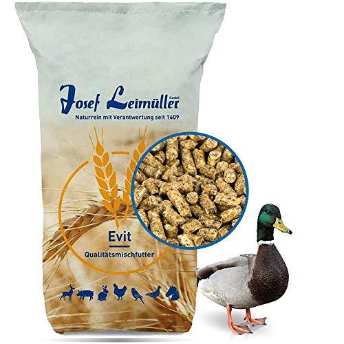 Leimüller Entenfutter & Gänsefutter Pellets | Alleinfutter in Premium Qualität | garantiert gentechnikfrei 5 kg
