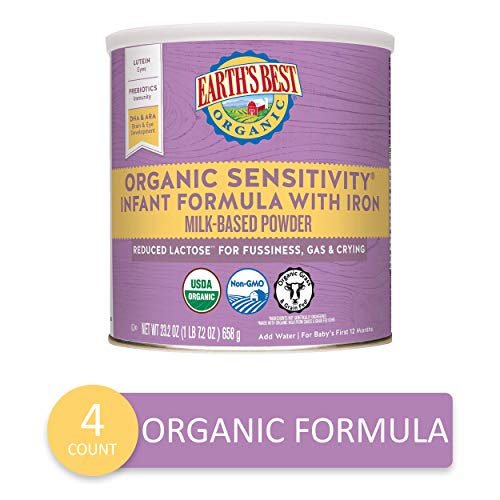 Earth's Best Organic, Sensitivity with Iron, Infant Formula review