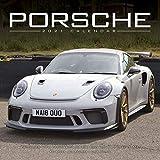 Porsche Calendar- Calendars 2020 - 2021 Wall Calendars - Car Calendar - Automobile Calendar - Porsche 16 Month Wall Calendar by Avonside