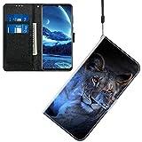 Jamitai Klapptasche für Handy Meizu M5 Hülle Leder Handytasche Handyhülle Brieftasche Hüllen Hülle mit Kartenfach & Ständer/ZMT01P-0A