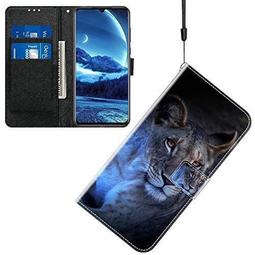 Jamitai Klapptasche für Handy TP-Link Neffos X20 Hülle Leder Handytasche Handyhülle Brieftasche Hüllen Hülle mit Kartenfach & Ständer/ZMT01P-0A