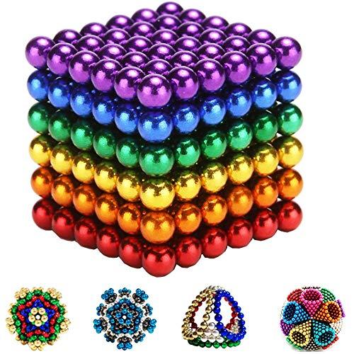MBTRY Bolas de juguete educativo palillos de construcción 216pcs juguetes educativos para niños DIY liberación estrés regalo para adultos
