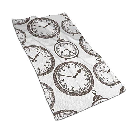 637 Beach Towel Reloj De Bolsillo Vintage De Secado Rápido 80X130Cm Adulto Personalizado Ultra Suave Toalla De Playa Único Toallas De Baño Toalla De Baño Hotel Toalla De PIS