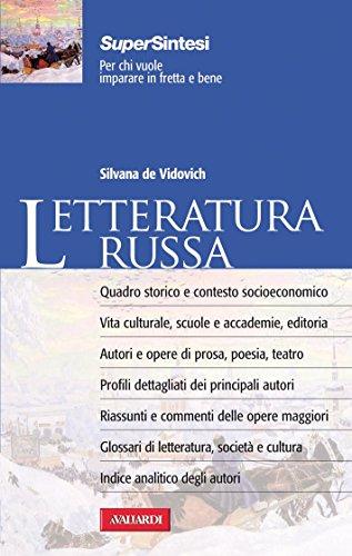Letteratura russa: Sintesi Super