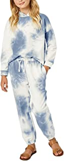 Girls 2PCS Hoodies and Jogger Sweatpant Sets Tie Dye Long...