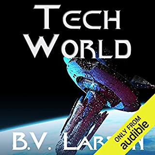 Tech World     Undying Mercenaries, Book 3              Auteur(s):                                                                                                                                 B. V. Larson                               Narrateur(s):                                                                                                                                 Mark Boyett                      Durée: 13 h et 13 min     28 évaluations     Au global 4,9