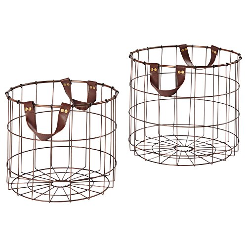 wire basket large round - 4