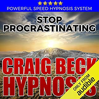 Stop Procrastinating: Craig Beck Hypnosis audiobook cover art
