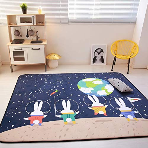 Save %41 Now! LoveHome Crawling Mat for Babys,Soft Thick Not-Toxic Kids Play Mat for Baby Bedroom Ch...