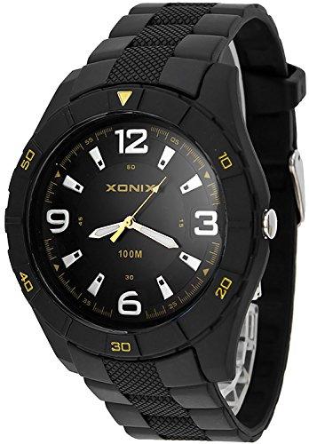 Sportliche analoge XONIX Armbanduhr für Herren wasserdicht bis 100m, XAQQ/6